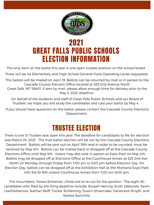 GFPS Election Information