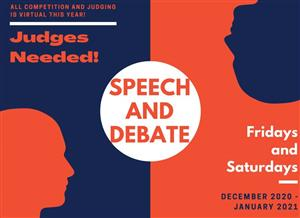 Speech and Debate Judges Needed