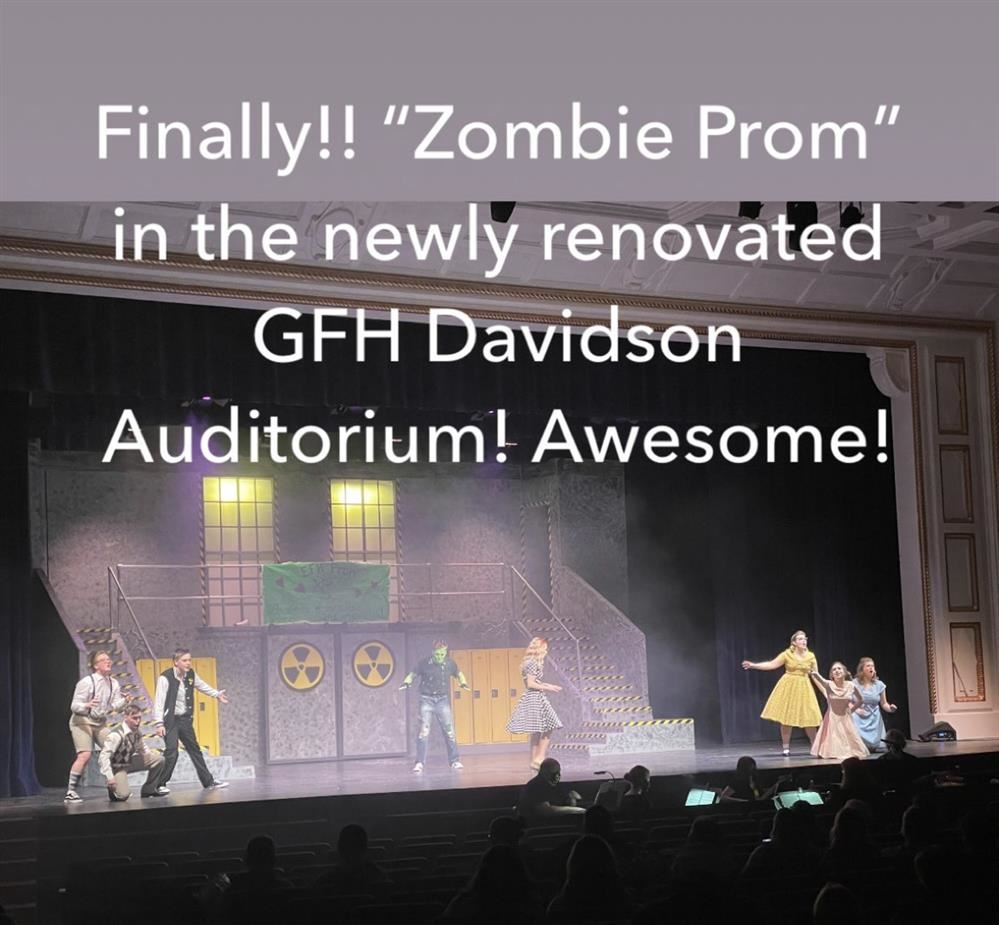 photo of cast from Zombie Prom